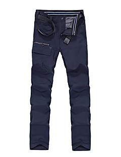 baratos Calças e Shorts para Trilhas-Homens Calças de Trilha Ao ar livre Treinador / Respirabilidade Inverno Calças Exercicio Exterior