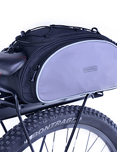 cheap Bike Bags-Roswheel Rear Pannier Bike Bag Trunk Bag Polyester Bike Luggage Carrier Bag