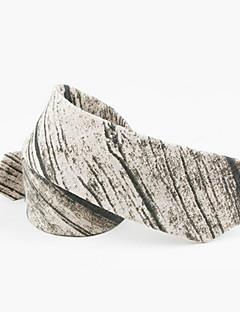 billige Slips og sløyfer-Herre Fritid Slips,Alle årstider Trykt mønster Bomull Grå