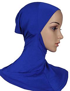 tanie Etniczne & Cultural Kostiumy-Kostiumy Egipskie Hidżab Damskie Festiwal/Święto Kostiumy na Halloween Cyan Light Purple Brown Niebieski Różowy Jendolity kolor