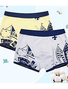 billige Undertøj og sokker til drenge-Drenge Undertøj Bomuld Alle årstider Elastisk Grå