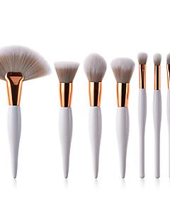 abordables -Professionnel Pinceaux à maquillage Pinceau à Lèvres / Pinceau à Blush / Maquillage Poil Synthétique Economique / Doux / Couvrant Bois