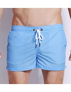 billige Herremote og klær-Herre Store størrelser Nederdeler - Blonde Grunnleggende Helfarge