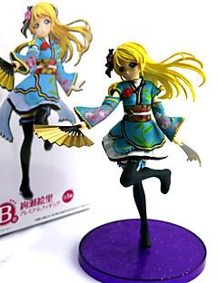 billige Anime cosplay-Anime Action Figurer Inspirert av Elsker live PVC 16 CM Modell Leker Dukke
