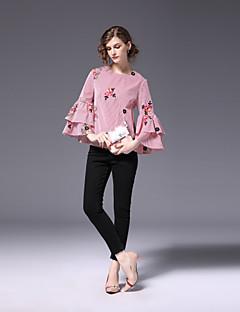 cheap FRMZ-Women's Work Cute Shirt Embroidered