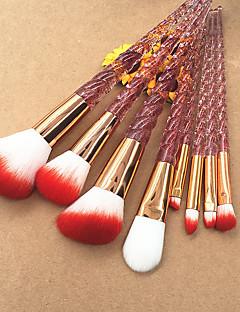 abordables -8pcs Professionnel Pinceaux à maquillage Pinceau à Lèvres / Pinceau Fard à Paupières / Pinceau à Blush Pinceau en Nylon Economique /