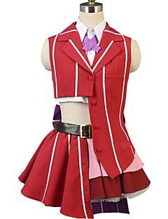 """billige Anime cosplay-Inspirert av Programmene Frontier Cosplay Anime  """"Cosplay-kostymer"""" Cosplay Klær Annen Ermeløs Halsklut / Trøye / Topp Til Herre / Dame Halloween-kostymer"""