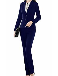 levne Dámské blejzry a bundy-Dámské Jednobarevné Business Obleky