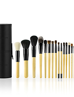 cheap Makeup Brush Sets-18pcs Makeup Brush Set Horse Others Synthetic Hair Goat Hair Professional Comfy Full Coverage Wooden N/A Professional Comfy Full Coverage
