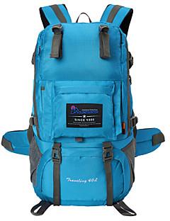billiga Ryggsäckar och väskor-40 L Ryggsäckar - Vattentät, Bärbar, Multifunktionell Utomhus Camping, Jakt, Klättring Nät, Polyster Mörkrosa, Khaki grön, Kamouflage Grå