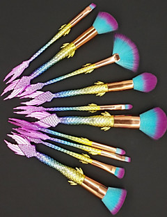 cheap -10-Pack Makeup Brushes Professional Eyeshadow Brush / Lip Brush / Eyeliner Brush Nylon / Nylon Brush Full Coverage / Color Gradient /