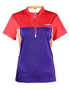 baratos Camisetas para Trilhas-Mulheres Camiseta de Trilha Ao ar livre Secagem Rápida Montanhismo Sertão Fitness Respirabilidade Camiseta N/D Exercicio Exterior