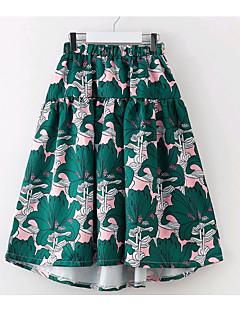 preiswerte Röcke für Mädchen-Kinder Mädchen Blumen Rock