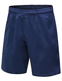 billige Løbetøj-Herre Løbeshorts Åndbarhed Shorts Træning & Fitness Polyester Rød / Hvid / Grå / Mørk Navy L / XL / XXL