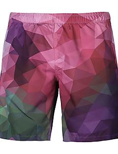 billige Herrebukser og -shorts-Herre Sporty Aktiv Shorts Chinos Bukser Geometrisk Fargeblokk