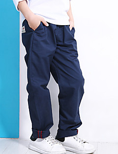 billige Drengebukser-Børn Drenge Vintage Stribet Bukser