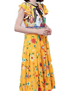 Γυναικεία Βασικό Λεπτό Παντελόνι - Καρό Κίτρινο 0acd2243f29