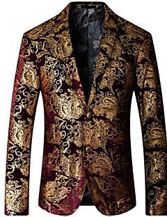 billige Herremote og klær-Blazer-Ensfarget Fritid Herre