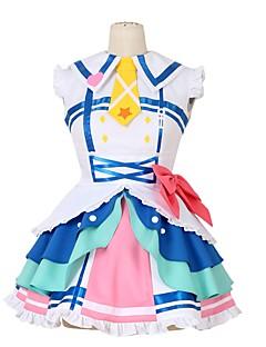 """billige Anime Kostymer-Inspirert av Elsker live Andre Anime  """"Cosplay-kostymer"""" Cosplay Klær Annen Ermeløs Kjole Sløyfe Mer Tilbehør Slips Til Herre Dame"""