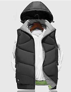 tanie Odzież turystyczna-Męskie Turistická vesta Na wolnym powietrzu Wiatroodporna, Zdatny do noszenia Kamizelka / Dres Pojedyncze Slider Camping & Turystyka / Ćwiczenia na zewnątrz