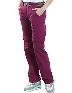 baratos Calças e Shorts para Trilhas-Mulheres Calças de Trilha Ao ar livre Secagem Rápida, Respirabilidade, Redutor de Suor Calças / Calças Convertíveis Exercicio Exterior / Multi-Esporte