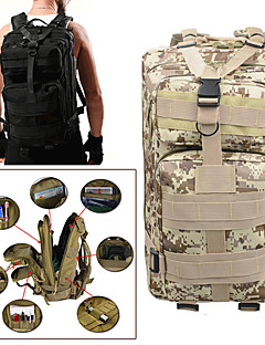 cheap Backpacks & Bags-25L Hiking & Backpacking Pack Camping Military Trail Travel Rain-Proof Wearable Oxford ACU Color CP Color Digital Jungle Digital Desert