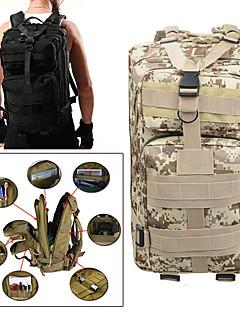 billiga Ryggsäckar och väskor-25 L Ryggsäckar - Regnsäker, Bärbar Utomhus Camping, Militär, Resor oxford digital Jungel, digital Desert, Pyton Lera Färg