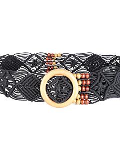 billige Trendy belter-Dame Vintage Bredt belte - Uthult