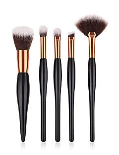 povoljno -5 kom. Četke za šminku profesionalac Četka Setovi / Kist za rumenilo / Kist za sjenilo Nylon Brush / Synthetic Hair Eco-friendly / / Drvo