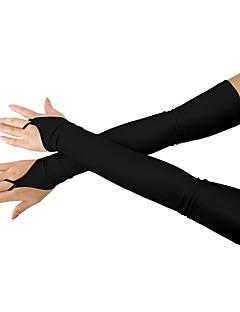 baratos Acessórios Cosplay Anime-Luvas Inspirado por Outros Moda Anime Acessórios para Cosplay Luvas Lycra® Homens Mulheres Fantasias Luvas de Dança