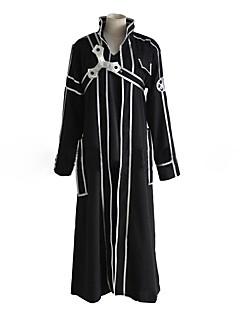 """billige Anime Kostymer-Inspirert av Sword Art Online SAO Kirito Swordman Anime  """"Cosplay-kostymer"""" Cosplay Klær Ensfarget / Stripet / Reaktivt Trykk Langermet N / A / Frakk / Bukser Til Herre Halloween-kostymer"""