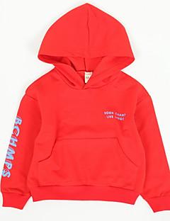 billige Hættetrøjer og sweatshirts til drenge-Børn Drenge Prikker Langærmet Hættetrøje og sweatshirt
