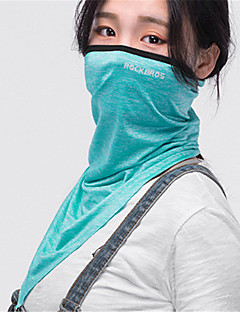 billige Sykkelklær-Ansiktsmaske Sommer Fukt Wicking / Ultraviolet Motstandsdyktig / Pusteevne Sykling / Sykkel Unisex Elastisk Ensfarget / Høy Elastisitet