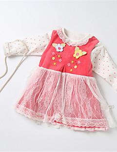 billige Sett med babyklær-Baby Unisex Ensfarvet Uden ærmer Tøjsæt