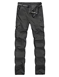 baratos Calças e Shorts para Trilhas-Homens Calças de Trilha Ao ar livre Secagem Rápida, Respirabilidade, Redutor de Suor Calças Exercicio Exterior / Multi-Esporte