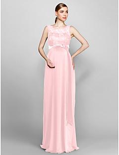 Pink Knit Bridesmaid Dresses