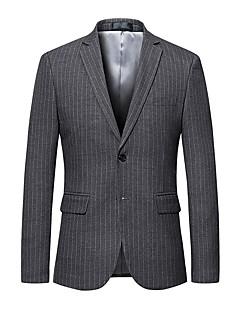 billige Herremote og klær-Blazer - Stripet Forretning Herre