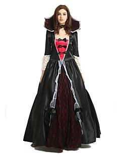 billige Halloweenkostymer-Trollmann / heks Kostume Unisex Halloween Halloween Karneval Nytt År Festival / høytid Drakter Svart Ensfarget Halloween