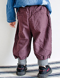 billige Drengebukser-Baby Drenge Ensfarvet Bukser