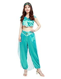 princess jasmine costume womens halloween halloween carnival new year festival holiday halloween costumes outfits blue solid colored halloween
