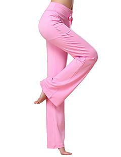 billiga Träning-, jogging- och yogakläder-Dam Utsvängda byxben Yoga byxor - Mörkröd, Mörkgrå, Marinblå sporter Mode Långbyxor Sportkläder Lättvikt, Snabb tork, Andningsfunktion Elastisk