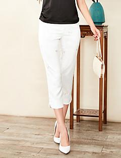 Χαμηλού Κόστους Παντελόνια-Γυναικεία Βασικό Chinos Παντελόνι Μονόχρωμο / Γεωμετρικό