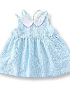 billige Babykjoler-Baby Pige Stribet Uden ærmer Kjole