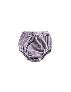 billige Babyunderdele-baby unisex søde solid farvede bukser