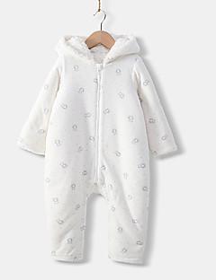 billige Babytøj-Baby Unisex Trykt mønster Langærmet Overall og jumpsuit