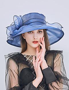 baratos Acessórios de Moda-Mulheres Básico / Férias Chapéu de sol - Com Transparência Sólido