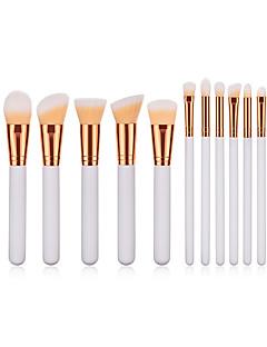 baratos -15pçs Pincéis de maquiagem Profissional Conjuntos de pincel Fibra de Nailom Amiga-do-Ambiente / Macio De madeira / bambu