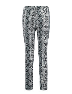 billige AW 18 Trends-Dame Sporty Tights - Blomstret, Netting Medium Midje