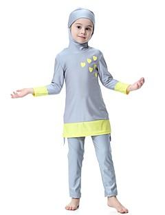 cheap Boys' Swimwear-Kids Girls' Patchwork Swimwear