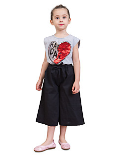 billige Bukser og leggings til piger-Børn Baby Pige Ensfarvet Shorts